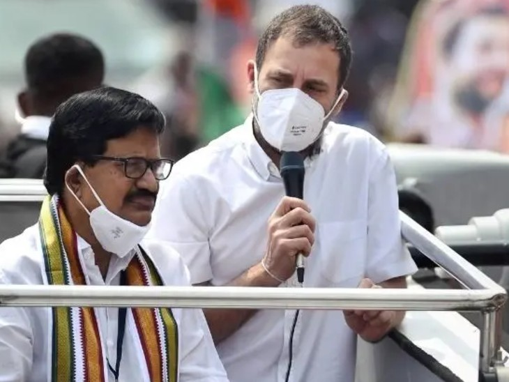 चेन्नई में राहुल गांधी ने उत्तर भारतीयों को लेकर कमेंट किया था। इस पर काफी विवाद हुआ था।