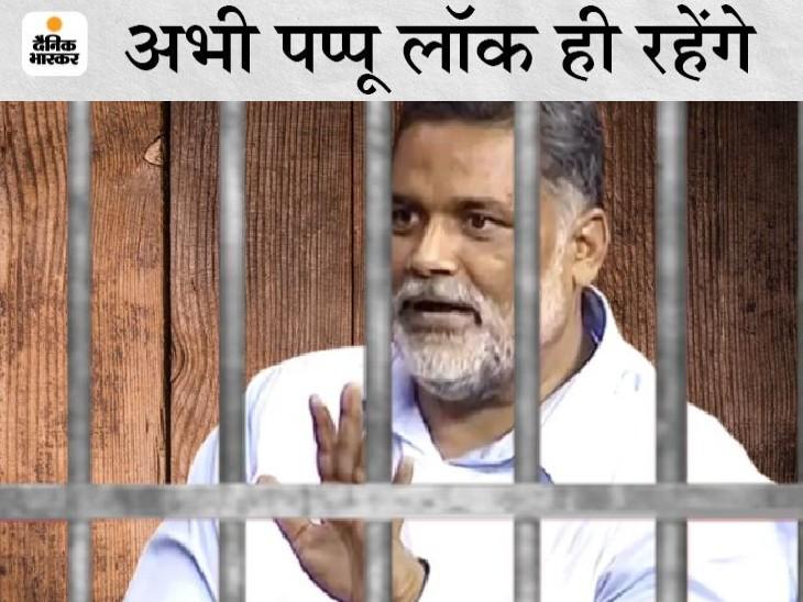 पूर्व सांसद को बिना अनुमति प्रदर्शन करने और सरकारी काम में बाधा पहुंचाने के मामले में मिली जमानत, अपहरण कांड में जेल में ही रहेंगे|बिहार,Bihar - Dainik Bhaskar