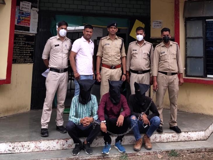 इंदौर में 2 हजार का डीजल के लिए दिए 100 के नकली नोट; कर्मचारी को हुआ शक तो पुलिस बुलाकर पकड़वाया|इंदौर,Indore - Dainik Bhaskar