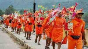अंतिम बार 45 हजार पदयात्री हुए थे शामिल, पहली बार साढ़े 12 कावड़ के साथ शुरू हुई थी यात्रा, अबकी बार कोरोना के कारण नहीं होगी कावड़ यात्रा|बांसवाड़ा,Banswara - Dainik Bhaskar