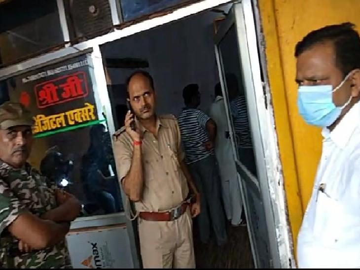 बक्सर के एक निजी अस्पताल में हुई घटना, हत्या या आत्महत्या हुई, इसकी जांच में जुटी है पुलिस|बक्सर,Buxar - Dainik Bhaskar