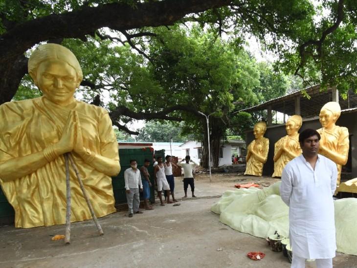 फूलन देवी की मूर्तियों के सहारे UP की सियासत में एंट्री करेंगे सहनी।