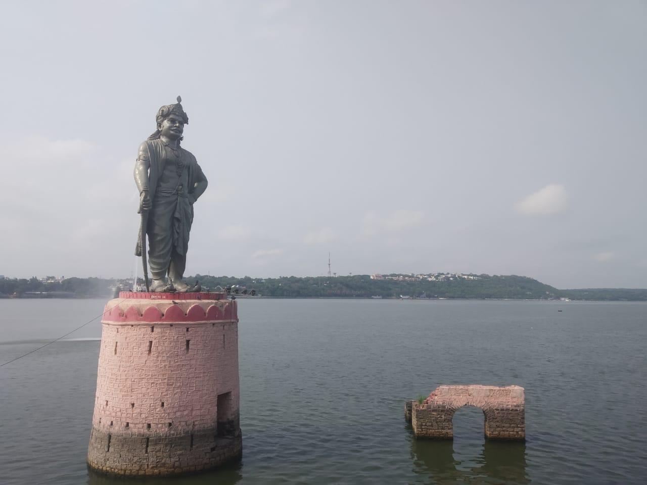 बारिश नहीं होने से भोपाल के बड़ा तालाब में वॉटर लेवल आधा फीट घटा, केरवा डैम में भी आई कमी|भोपाल,Bhopal - Dainik Bhaskar
