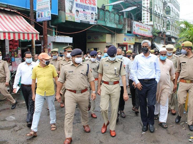 DM-SSP ने शहर के मिश्रित आबादी वाले इलाकों का भी दौरा किया।