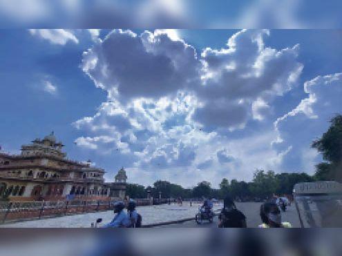 10 साल में दूसरी बार जुलाई में कम बारिश; 20 दिन में सिर्फ 103 मिमी ही बरसात हुई|जयपुर,Jaipur - Dainik Bhaskar
