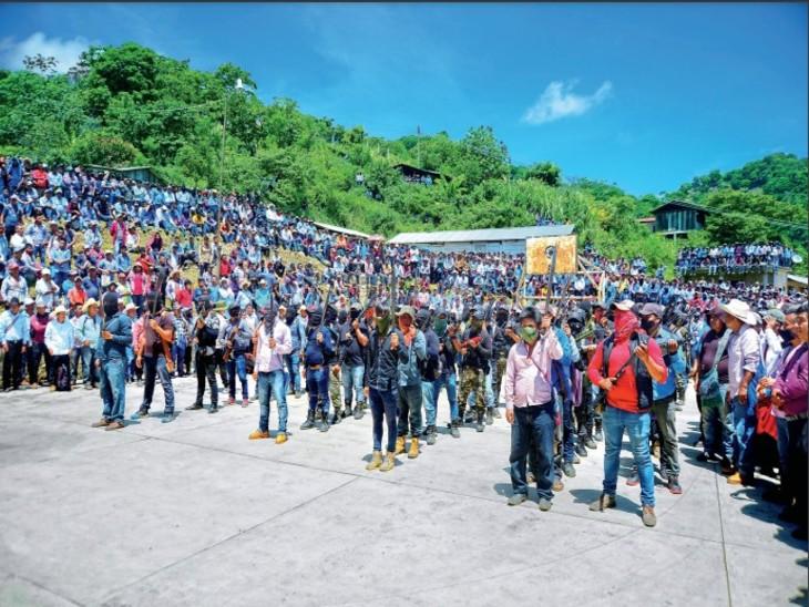 अपनों की सुरक्षा के लिए ड्रग्स माफिया के खिलाफ नागरिकों ने उठाए हथियार|विदेश,International - Dainik Bhaskar