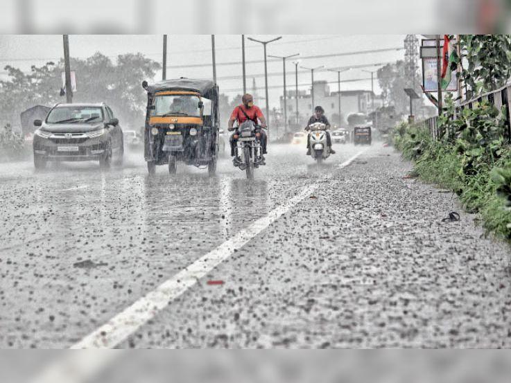 80 एमएम बारिश; टेंपरेचर 21 डिग्री, सारा दिन बरसी राहत|जालंधर,Jalandhar - Dainik Bhaskar