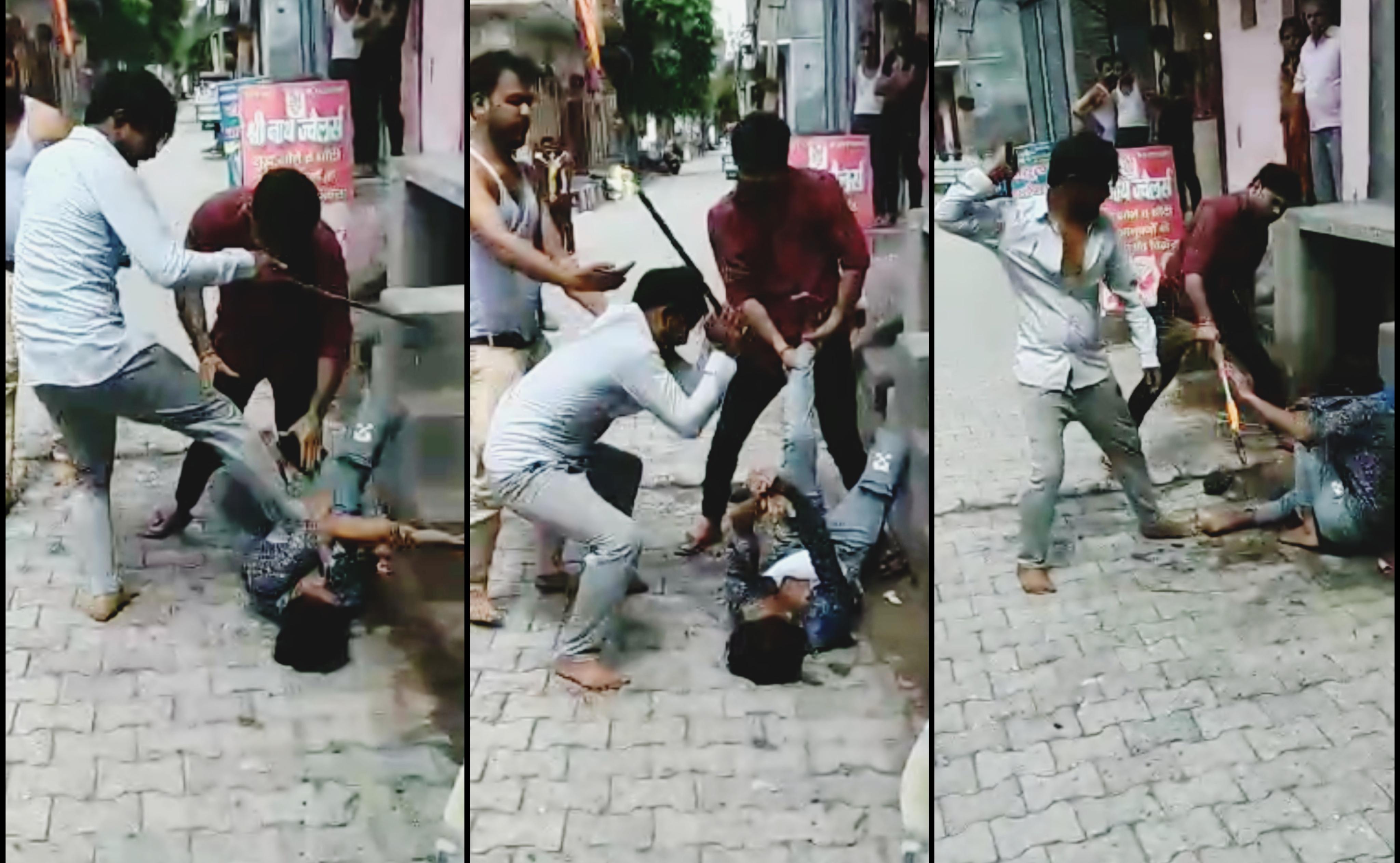 युवक के दांत तोड़े, सिर से लेकर पैर तक चोटें; 3 माह पुराने विवाद का दर्दनाक तरीके से लिया बदला|गाजियाबाद,Ghaziabad - Dainik Bhaskar