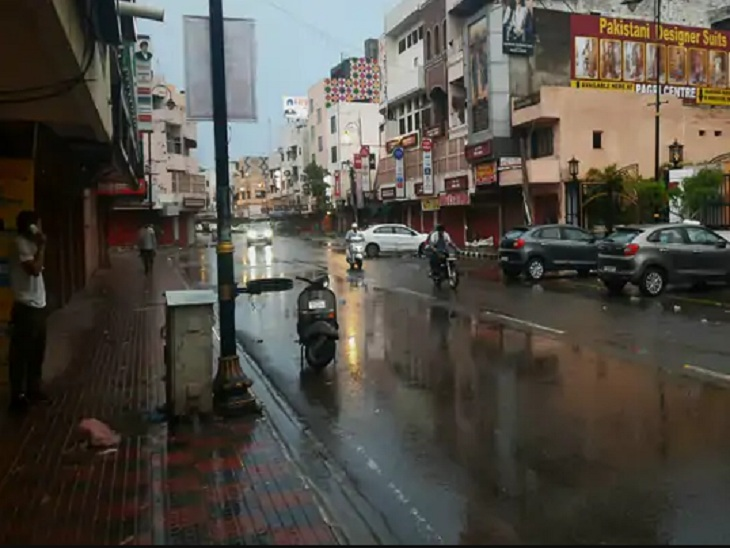 बारिश ने गर्मी में कराया ठंड का अहसास, न्यूनतम तापमान 23 डिग्री रिकॉर्ड, 24 घंटे में 55.8 एमएम बरसा पानी|पंजाब,Punjab - Dainik Bhaskar