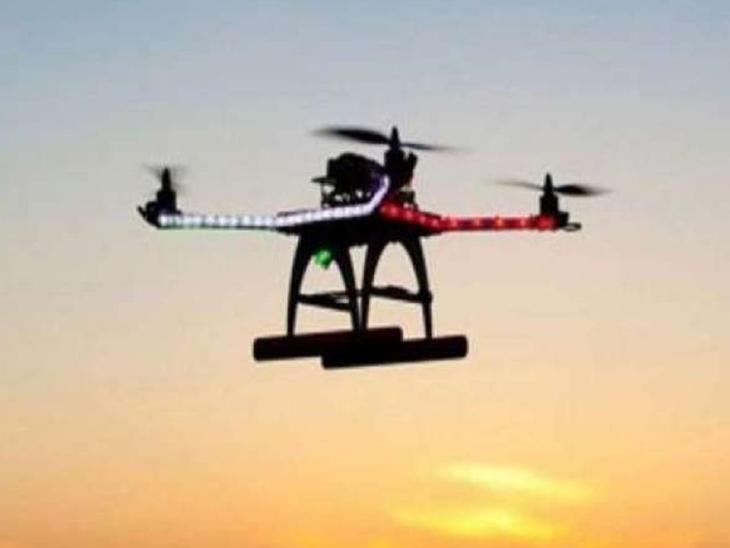 सतवारी इलाके में उड़ता दिखा ड्रोन, सुरक्षा एजेंसियां अलर्ट; इलाके के पास ही कैंट और एयरफोर्स स्टेशन देश,National - Dainik Bhaskar