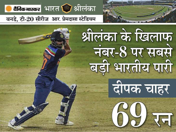 भारत ने श्रीलंका के खिलाफ लगातार नौवीं सीरीज जीती, श्रीलंका को सबसे ज्यादा बार हराने का वर्ल्ड रिकॉर्ड भी बनाया|क्रिकेट,Cricket - Dainik Bhaskar