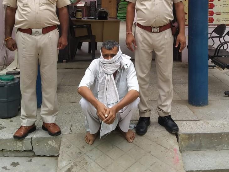 आरोपी श्याम सिंह गुर्जर। - Dainik Bhaskar