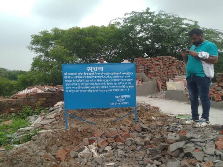 खोरी कॉलोनी मेें अब तक 2400 से अधिक मकान तोड़ दिए गए, 44 एकड़ जमीन हो चुकी खाली|फरीदाबाद,Faridabad - Dainik Bhaskar