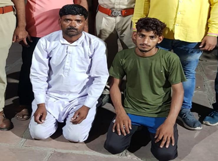 भाई को परीक्षा दिलवाने कूकस आए युवक का अपहरण, परिवार को धमकी देकर मांगी 24 लाख रुपए की फिरौती, पुलिस ने दिल्ली में युवक को चंगुल से छुड़ाया|जयपुर,Jaipur - Dainik Bhaskar