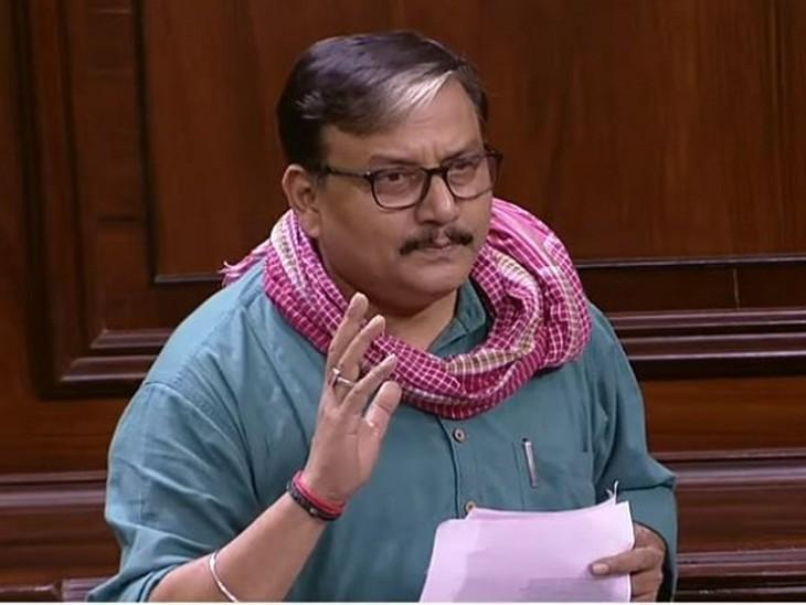 राज्यसभा में मनोज झा ने सभी पार्टियों से की साझा माफीनामा जारी करने की मांग, सोशल मीडिया पर वायरल हो रहा भाषण बिहार,Bihar - Dainik Bhaskar