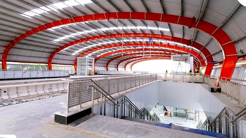 कानपुर मेट्रो देश में सबसे कम समय में ट्रायल रन करने वाली मेट्रो बनने की ओर बढ़ रही है। - Dainik Bhaskar