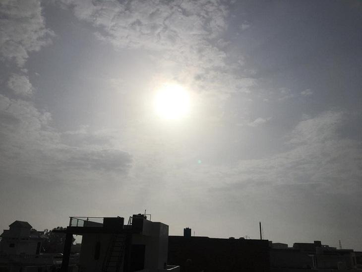 पानीपत में सुबह से ही तेज धूप द� - Dainik Bhaskar