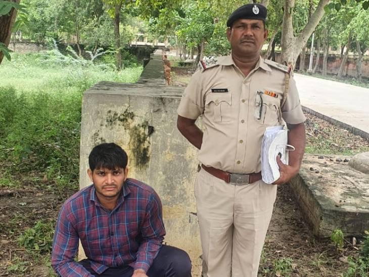 हत्या के प्रयास के आरोपियों को अवैध हथियार सप्लाई करने वाले को पुलिस ने दबोचा|फरीदाबाद,Faridabad - Dainik Bhaskar