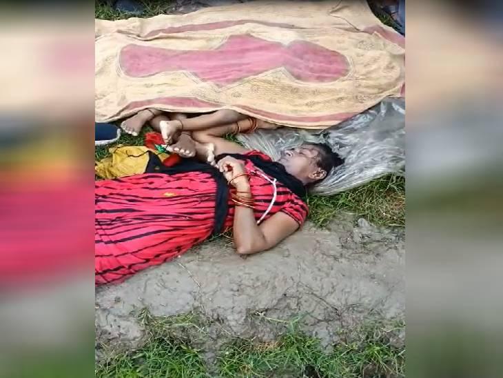 रायबरेली में आकाशीय बिजली की चपेट में आकर महिला व उसके दो बच्चों की मौत। - Dainik Bhaskar