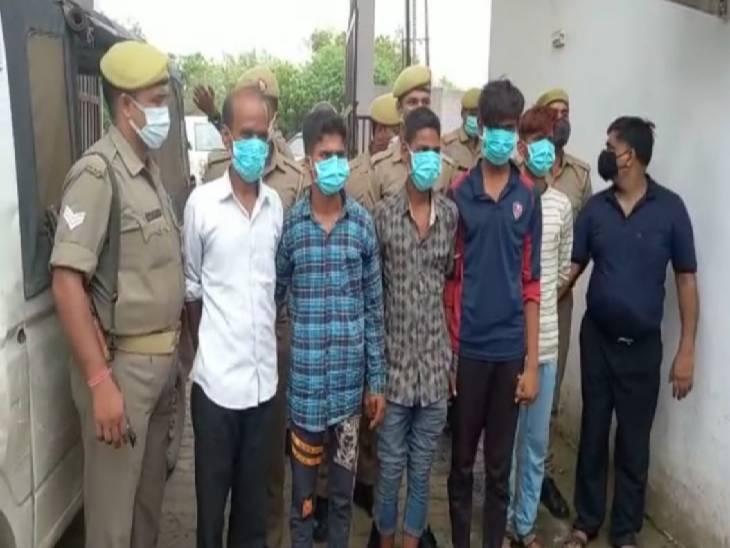 फिरोजाबाद में पुलिस ने घरों में चोरी करने वाले गैंग को दबोचा। - Dainik Bhaskar