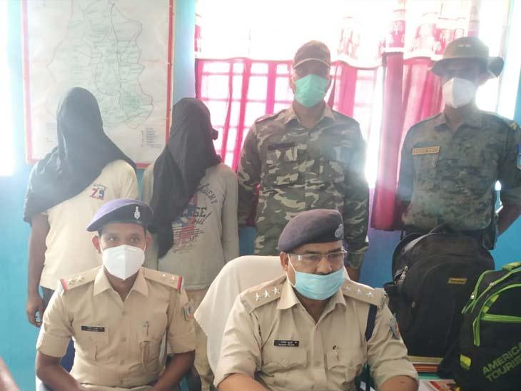 नाबालिग से दुष्कर्म, लेवी वसूली समेत कई मामले का आरोपी है एरिया कमांडर, एक अपह्रत लड़की भी बरामद|झारखंड,Jharkhand - Dainik Bhaskar