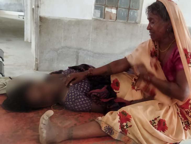 मृतका की पहचान उदय यादव की पत्नी गीता देवी (33) के रूप में की गई। - Dainik Bhaskar