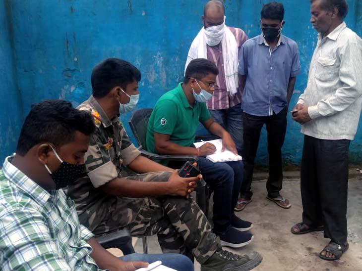 मानसिक स्थिति ठीक ना होने से पत्नी बच्चों के साथ रह रही थी मायके में, युवक ने फंदे से लटक दे दी जान|रांची,Ranchi - Dainik Bhaskar