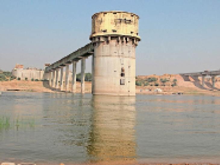 चंबल से शहर की जरूरत के लिए प्रतिदिन 75 एमएलडी पानी लिया जाना प्रस्तावित है। - Dainik Bhaskar