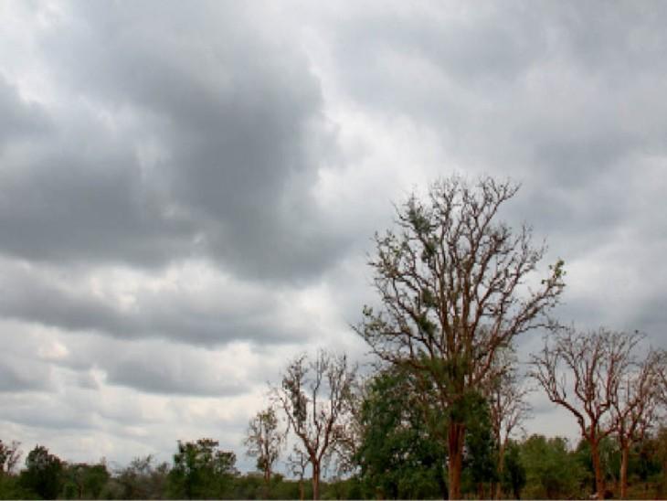 बादलों के असर से एक डिग्री बढ़कर 33.9 डिग्री पर पहुंचा अधिकतम तापमान, अगले 2 दिन तेज बारिश की उम्मीद नहीं|कोटा,Kota - Dainik Bhaskar
