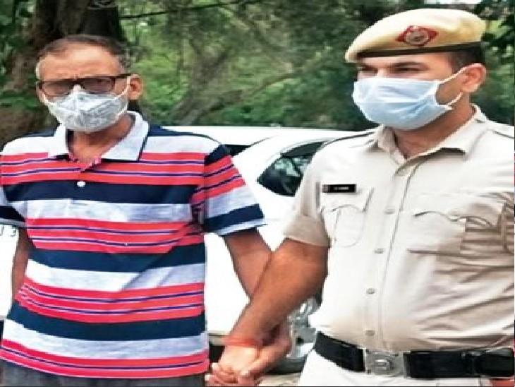 जासूसी का आरोपी सुरेंद्र। - Dainik Bhaskar