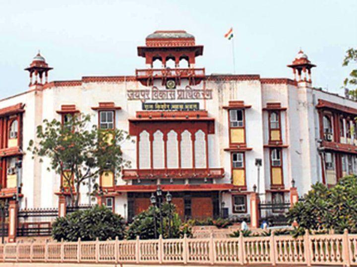10 दिन पहले प्रवर्तन शाखा ने जिस आम रास्ते से अतिक्रमण हटाया, वहां फिर अतिक्रमण|जयपुर,Jaipur - Dainik Bhaskar
