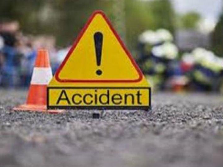 कार रजवाहे में गिरी, मथुरा से आ रहे पलवल के तीन युवकों की मौत|फरीदाबाद,Faridabad - Dainik Bhaskar