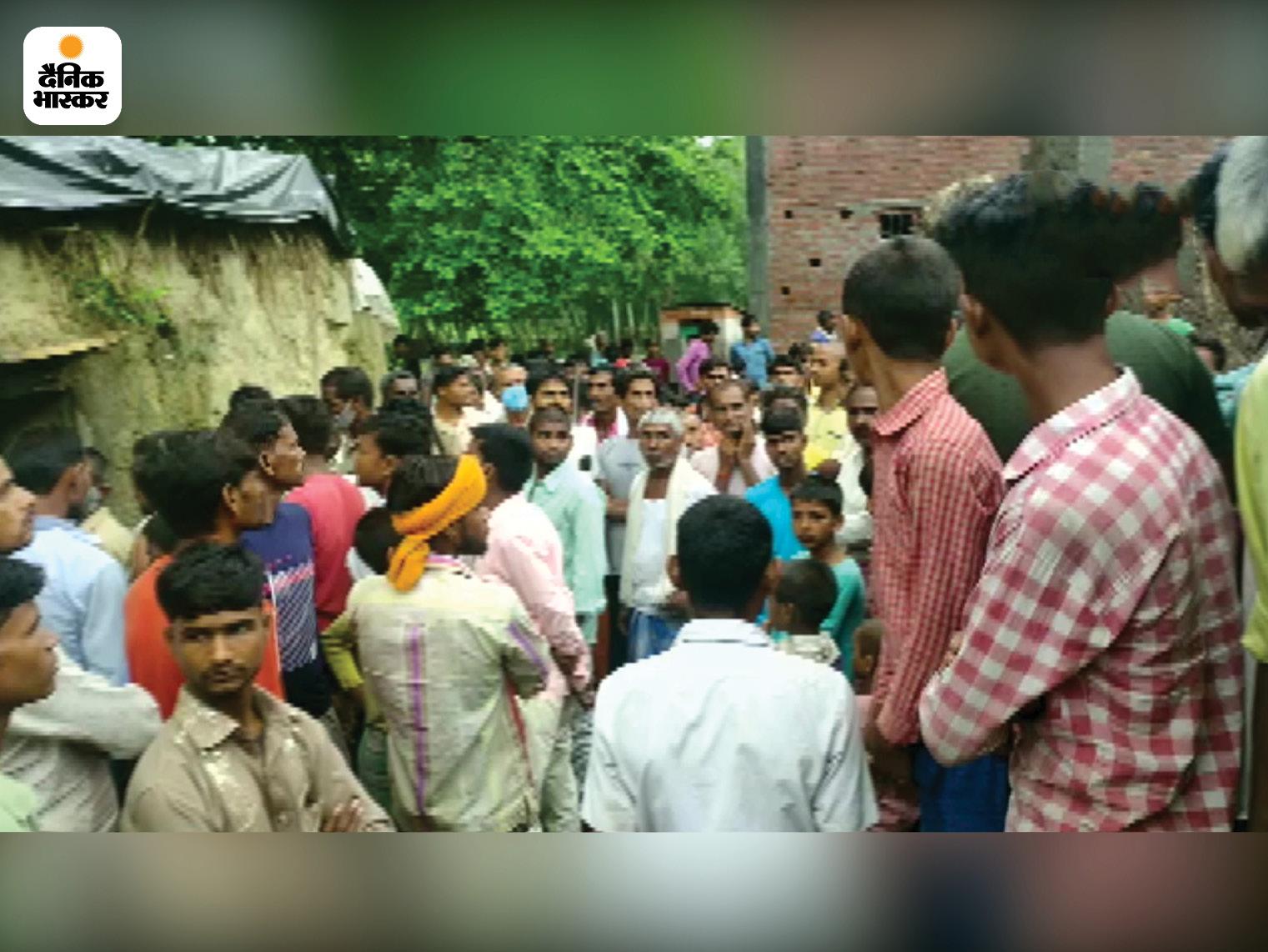 घटना मानपुर थाना क्षेत्र के लक्ष्मणपुर गांव की है।