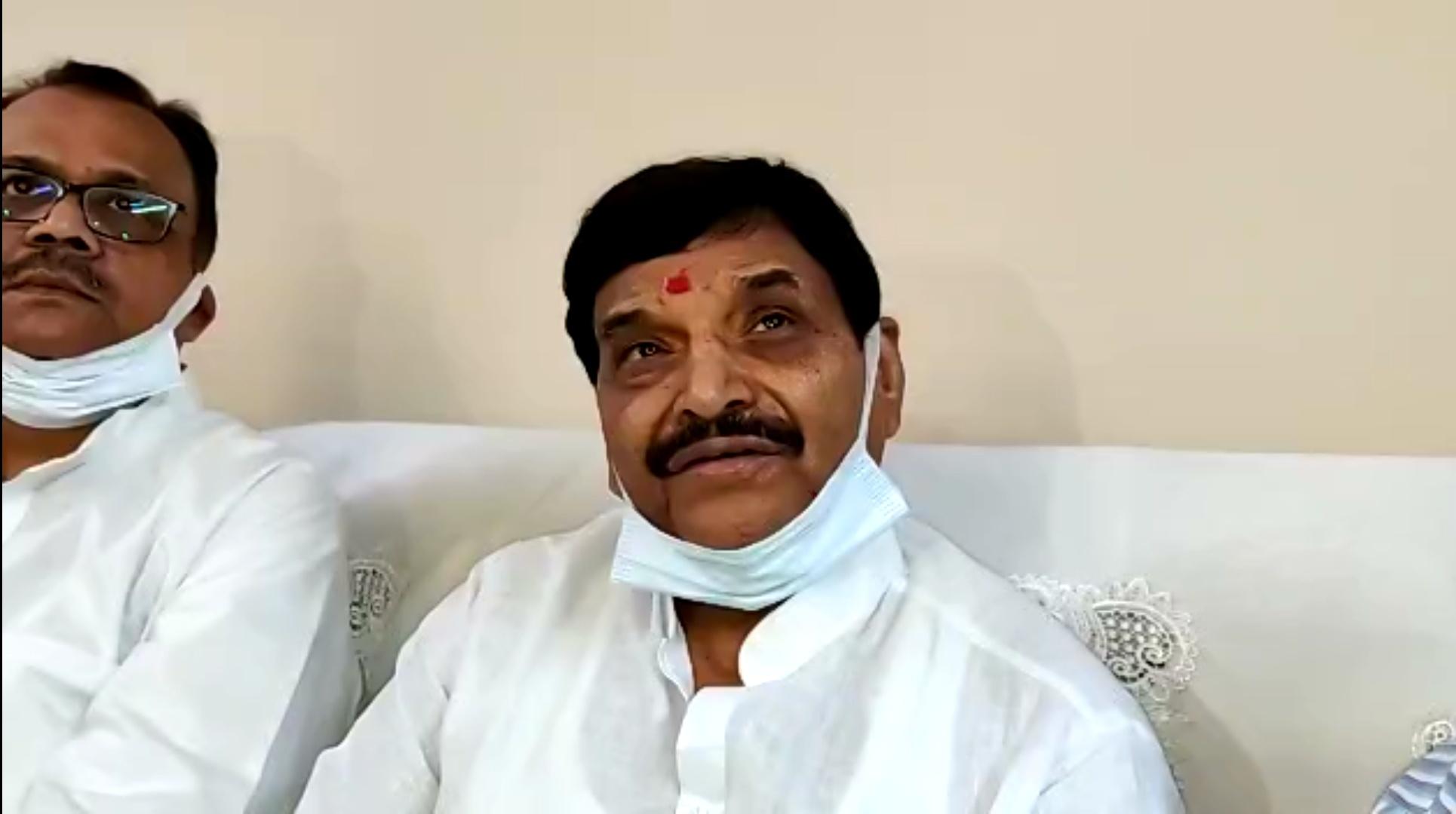 गाजियाबाद पहुंचे प्रसपा नेता शिवपाल यादव। - Dainik Bhaskar