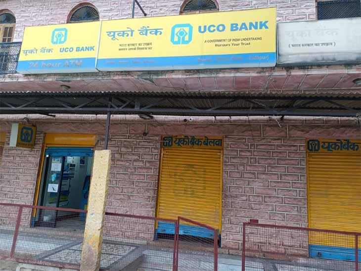 एक ही ताला तोड़ पाए चोर, दूसरा ताला नहीं टूटा तो भाग खड़े हुए|जोधपुर,Jodhpur - Dainik Bhaskar