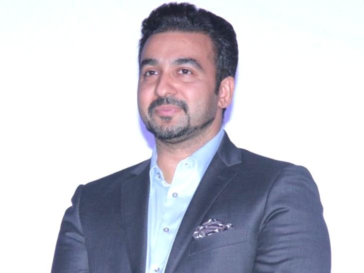 पोर्न फिल्म बनाने और ऑनलाइन ऐप के जरिए पब्लिश करने के आरोप में गिरफ्तार कुंद्रा फिलहाल 23 जुलाई तक मुंबई पुलिस की कस्टडी में हैं। - Dainik Bhaskar