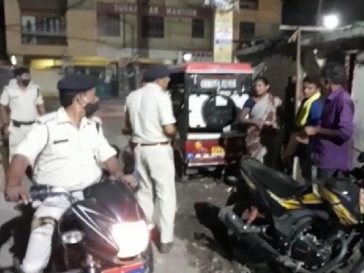 खास महल की जमीन के विवाद में अपराधियों ने की ताबड़तोड़ फायरिंग, दो घायल, जांच में जुटी पुलिस|पटना,Patna - Dainik Bhaskar