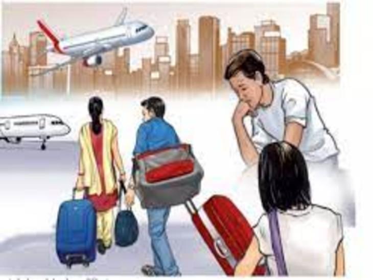 2020 में 5 हजार भारतीय रईस विदेश जाकर बसे, 2.60 लाख छात्र व छात्राएं भारत लौटे|देश,National - Dainik Bhaskar