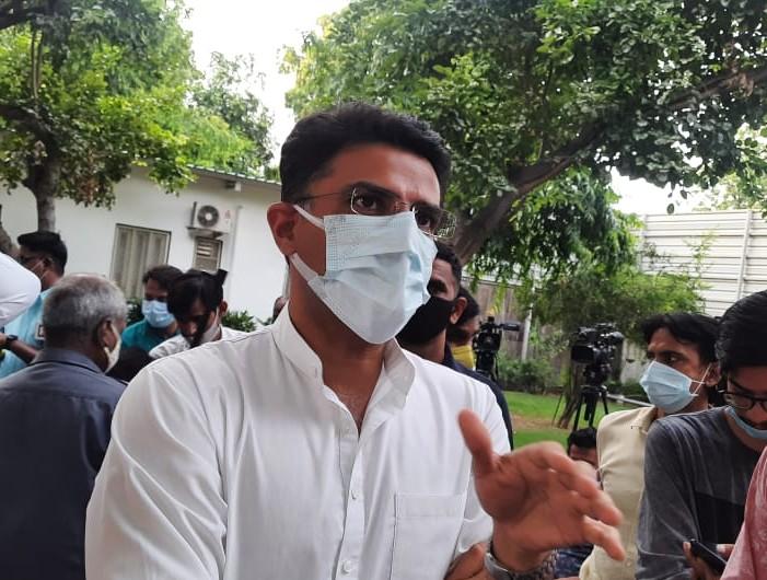 सचिन बोले- कांग्रेस अपनी सरकार बरकरार नहीं रख पाती, पहली बार 21 और दूसरी बार 50 सीटों पर रह गए थे, सरकार रिपीट हो इसी पर हमने सुझाव दिए|जयपुर,Jaipur - Dainik Bhaskar