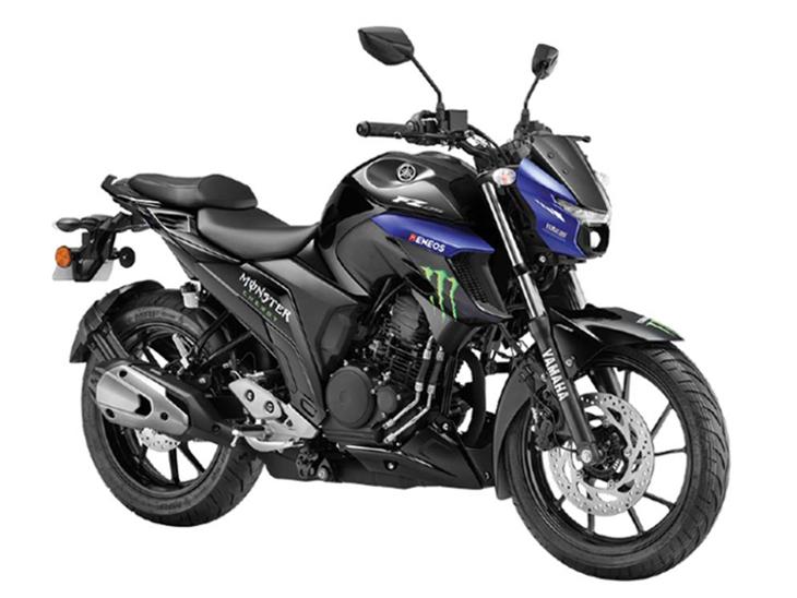 कंपनी ने FZ25 मॉन्सटर एनर्जी को भारत में उतारा, पुराने वैरिएंट से ज्यादा अट्रैक्टिव; 250cc का इंजन मिलेगा|टेक & ऑटो,Tech & Auto - Dainik Bhaskar