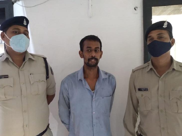 BSP कर्मी की हत्या करने वाला आरोपी पुलिस की गिरफ्त में है। पैसों की खातिर दोस्त की हत्या कर दी। - Dainik Bhaskar