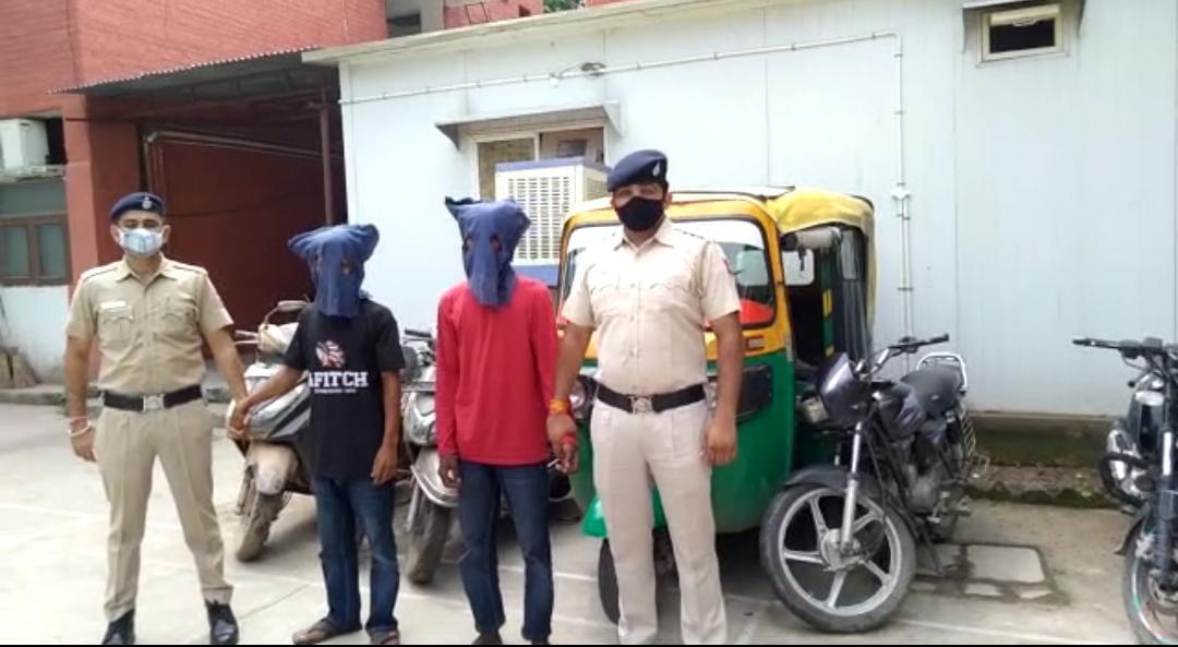 मलोया थाने की टीम ने बस स्टैंड के पास से गिरफ्तार किया, चोरी के 5 दो पहिया वाहन और एक ऑटो बरामद|चंडीगढ़,Chandigarh - Dainik Bhaskar