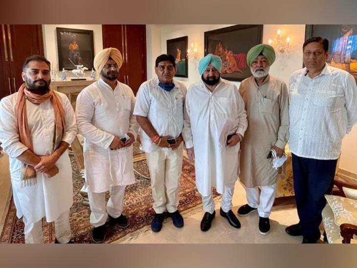 आज सिद्धू की ताजपोशी में शामिल होंगे अमरिंदर, CM ने सांसदों और विधायकों को सुबह चाय पर बुलाया|पंजाब,Punjab - Dainik Bhaskar