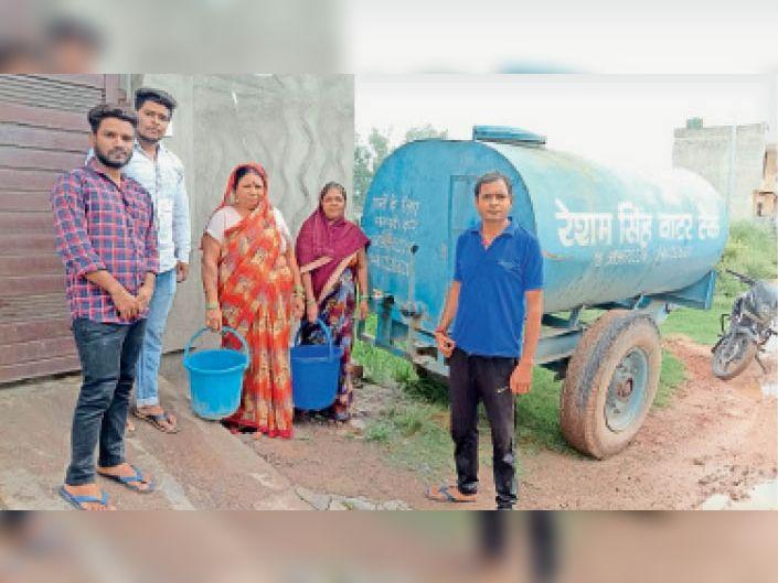 चार सदस्यों वाले परिवार को औसतन 7500 रुपए प्रति माह पानी पर खर्चने पड़ रहे|अम्बाला,Ambala - Dainik Bhaskar