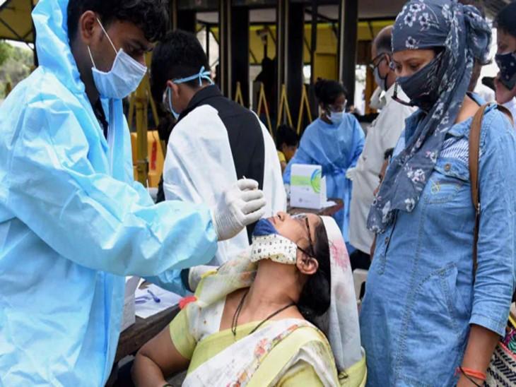 24 घंटे में मिले 55 नए संक्रमित,107 हुए रिकवर और 2 की मौत; इन 10 राज्यों से प्रदेश आने वालों पर पैनी नजर लखनऊ,Lucknow - Dainik Bhaskar