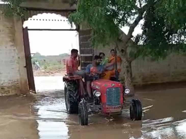 जोधपुर में बारिश का इंतजार, जैसलमेर में झमाझम, दो इंच बरसा पानी|जोधपुर,Jodhpur - Dainik Bhaskar