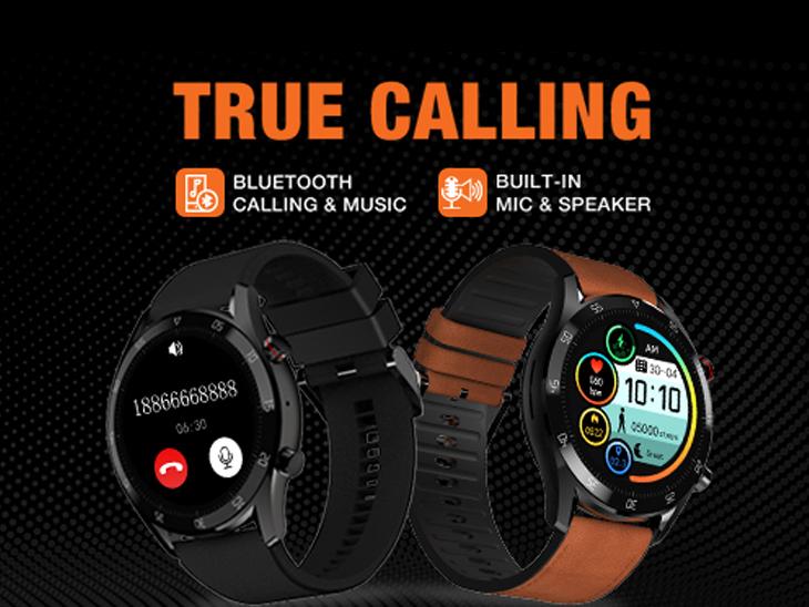वॉच से ही अटैंड हो जाएगा कॉल, इसमें माइक और स्पीकर दोनों दिए; कीमत 3499 रुपए|टेक & ऑटो,Tech & Auto - Dainik Bhaskar