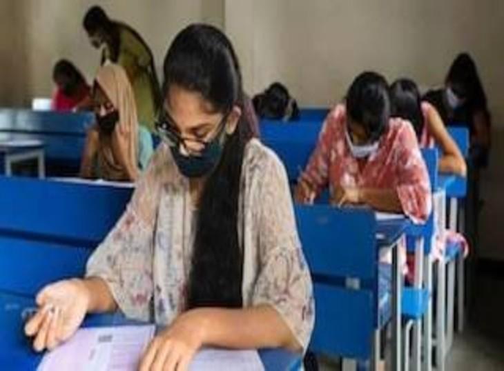 लखनऊ में सात हजार स्टूडेंट्स दे रहे आईआईटी एंट्रेंस एग्जाम,6 केंद्रों पर हो रही ऑनलाइन परीक्षा|लखनऊ,Lucknow - Dainik Bhaskar