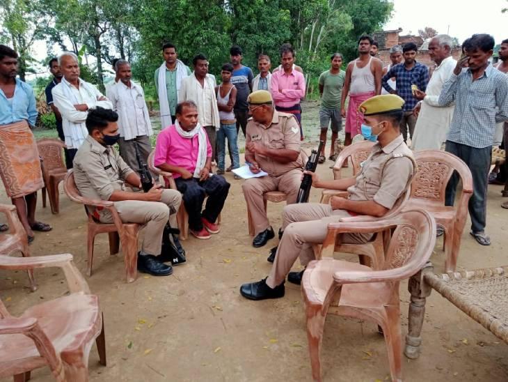 घरेलू कलह बताई जा रही वजह, मायके वालों ने लगाया हत्या का आरोप, ससुरालीजन 3 महीने की बच्ची को लेकर फरार कन्नौज,Kannauj - Dainik Bhaskar