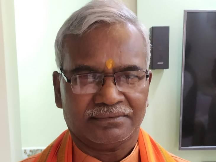 ट्रस्टी कामेश्वर चौपाल बोले- कुछलोग चाहते हैं राममंदिर समय पर न बन सके, मंदिर तो हर हाल में बनकर ही रहेगा|अयोध्या (फैजाबाद),Ayodhya (Faizabad) - Dainik Bhaskar